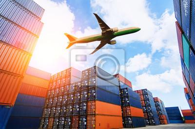 Obraz Logistyka i transport oraz logistyka eksportowa i przemysł transportowy