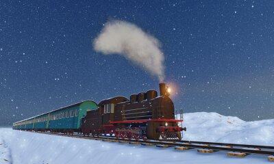 Obraz lokomotywa