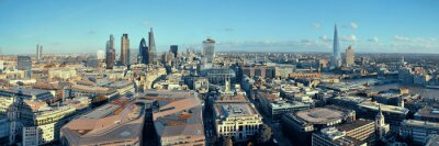 Obraz London City dachu