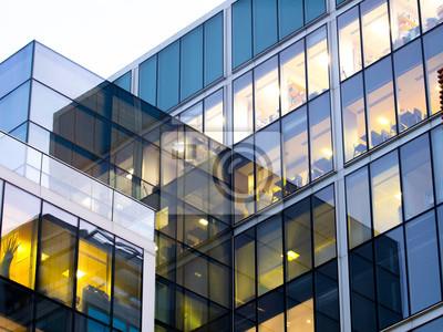 Obraz London office building skyscraper, working & meeting