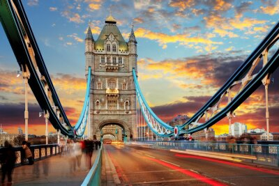 Obraz London, Tower Bridge