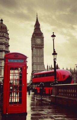 Obraz London ulica