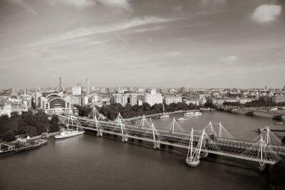 Obraz Londyn Aerial View