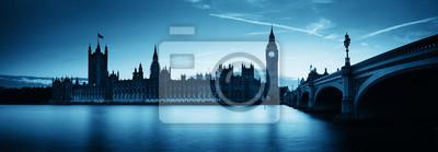 Londyn o zmierzchu