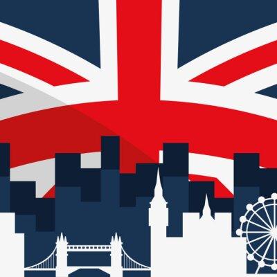 Obraz Londyńskich zabytków projekt