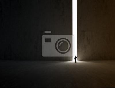 Obraz Lonely explorer
