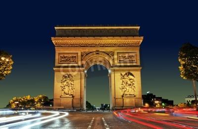 Obraz Łuk Triumfalny, Paryż, Francja