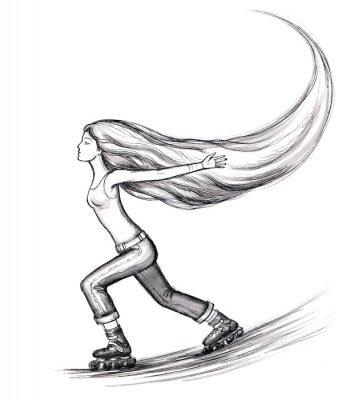 Obraz łyżwiarstwo