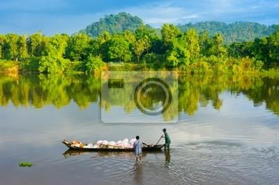 Madagascar rzeki i tubylcy