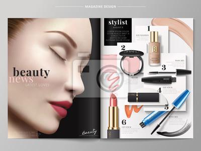 Obraz Magazyn mody piękności