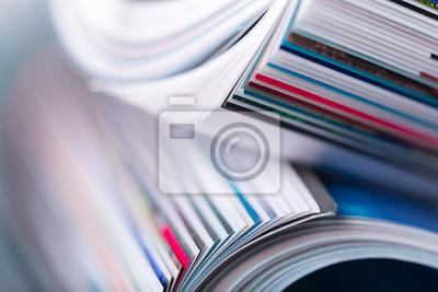 Obraz magazyn z bliska