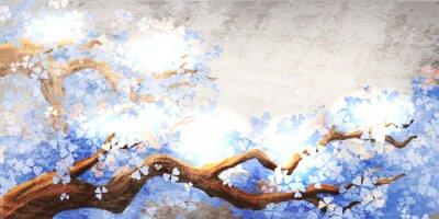 Obraz Magiczne drzewo gałąź