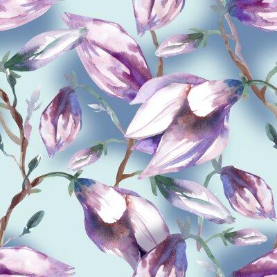 Obraz Magnolia Seamless Pattern