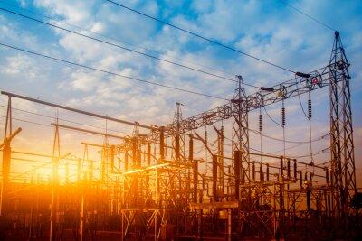 Obraz Main Power Plant Energy ideas And energy saving