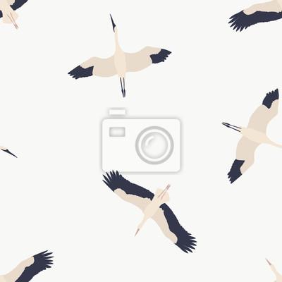 Maison de fleurs. Ptaki bez szwu wzór # 13