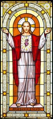 Obraz Malarstwo okno Jezus na cmentarzu