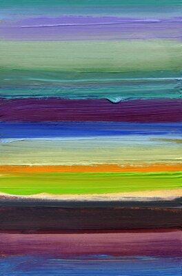 Obraz malerei Texturen streifen