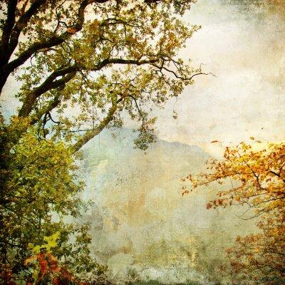 malowane jesień