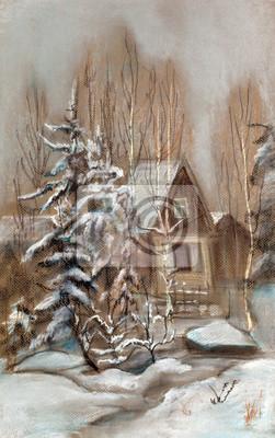 Obraz Mały dom na odpoczynek