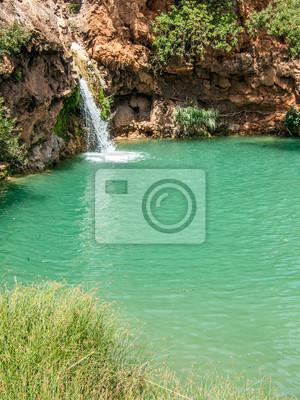 Mały wodospad w Pego do Inferno