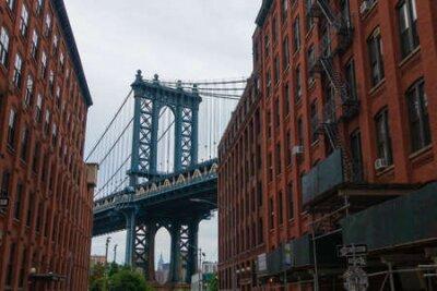 Obraz Manhattan Bridge day time landscape, New York