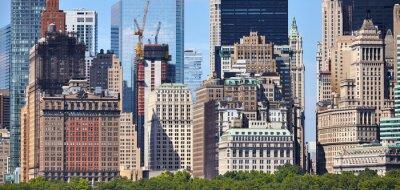 Manhattan diverse architecture, New York City, USA.