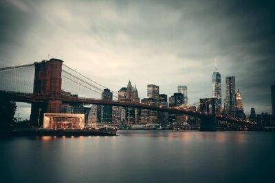 Obraz Manhattan Downtown