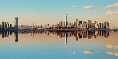 Obraz Manhattan Downtown Skyline