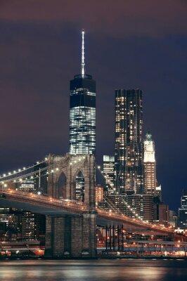 Obraz Manhattan nocą