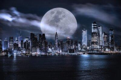 Obraz Manhattan skyline at dusk