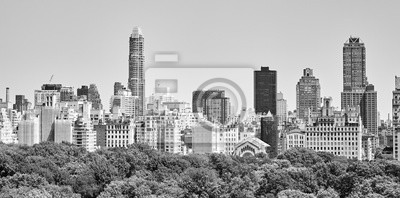 Manhattan Upper East Side by the Central Park, New York.