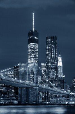 Obraz Manhattan w nocy