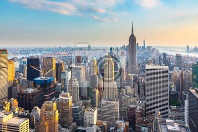 Obraz Manhattan - Widok z Top of the Rock - Rockefeller Center - Nowy Jork
