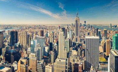 Obraz Manhattan z lotu ptaka