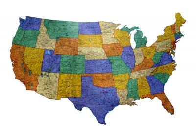 Obraz Mapa