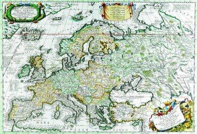 Obraz Mapa Europe.1690