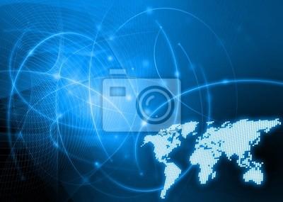 Mapa świata technologii stylu
