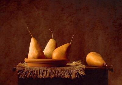 Obraz Martwa natura z gruszkami