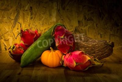 Obraz Martwa natura z owoców i warzyw dla zdrowia