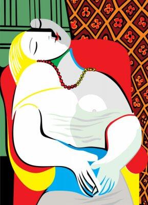 Obraz Marzenie Pablo Picasso