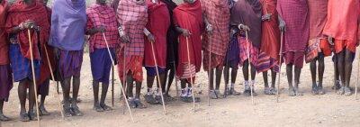 Obraz Masai, Amboseli National Park