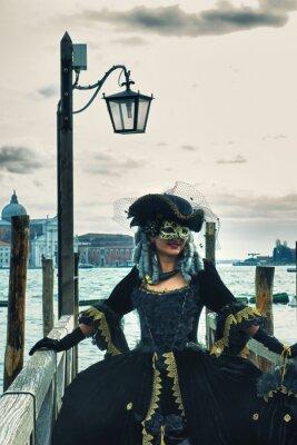 Obraz Maschera del Carnevale di Venezia