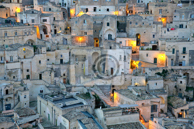 Obraz Matera, Włochy, I Sassi.