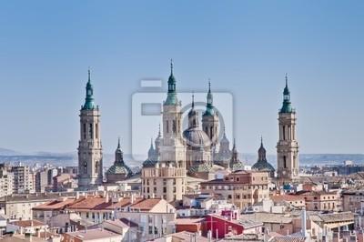 Matka Boska z Bazyliki Pillar w Saragossie w Hiszpanii