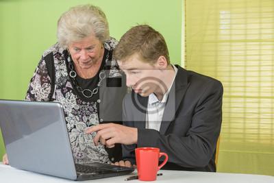 Obraz Matka laptop 3