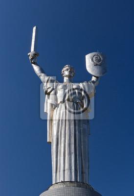 """""""Matka Ojczyzna"""" pomnik poświęcony Wielkiej Wojny Ojczyźnianej"""