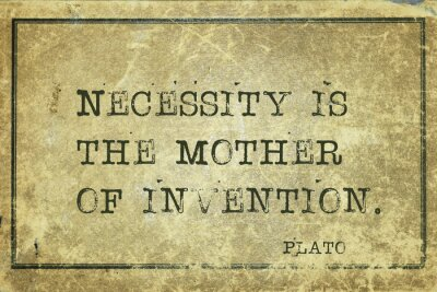 Obraz matką wynalazku Platona