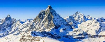 Obraz Matterhorn, Swiss Alps - panorama