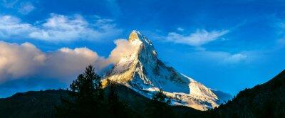 Obraz Matterhorn w Alpach szwajcarskich
