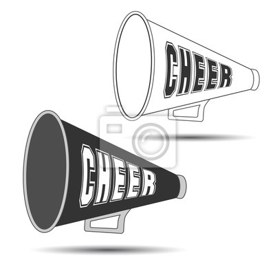 Obraz Megafon-Cheer używany przez cheerleaderki